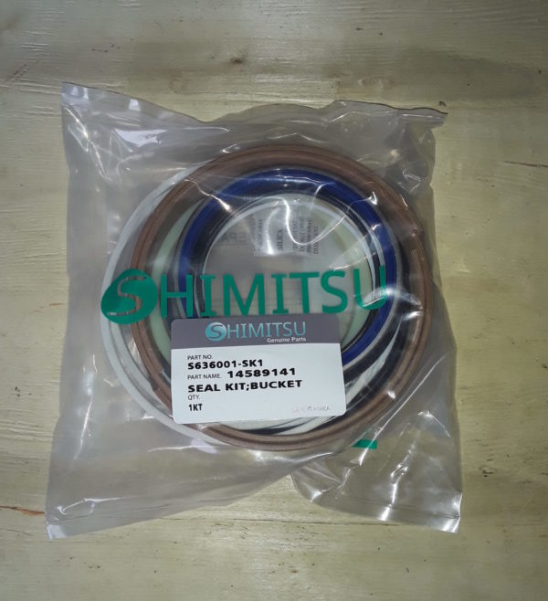 Ремкомплект гидроцилиндр ковша S636001-SK1 EC360B Shimitsu