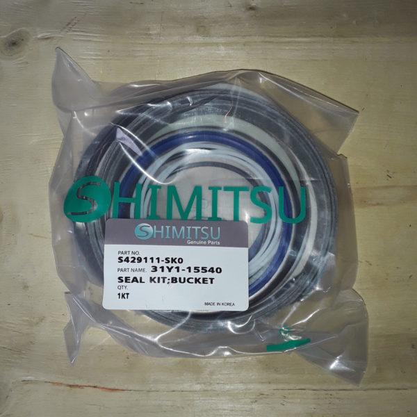 Ремкомплект гидроцилиндр ковша S429111-SK0 R290LC-7 Shimitsu