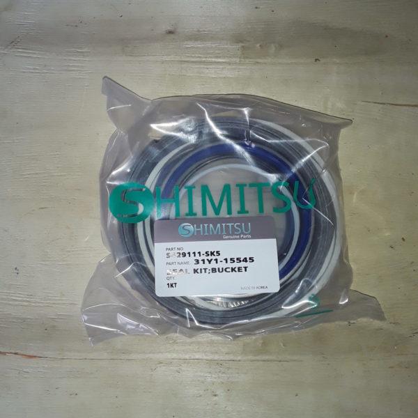 Ремкомплект гидроцилиндр ковша S429111-SK5 R290LC-7 Shimitsu