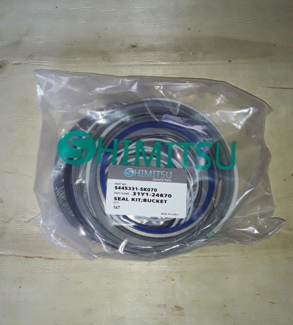 Ремкомплект гидроцилиндр ковша S445331-SK70 R450LC-7 Shimitsu