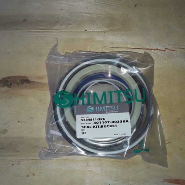 Ремкомплект гидроцилиндр ковша S534811-SK6 S340LC-V Shimitsu