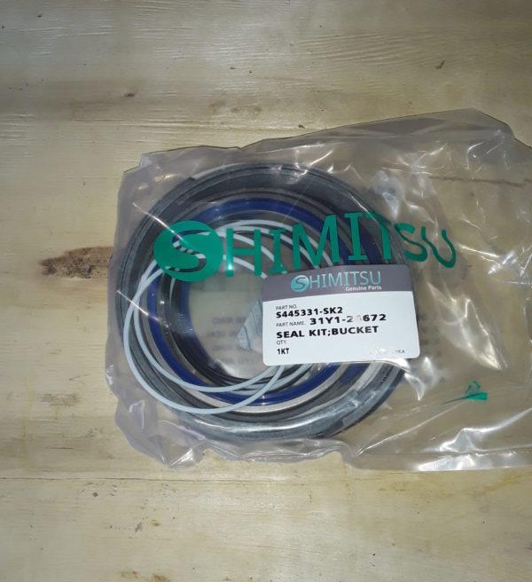Ремкомплект гидроцилиндр ковша S445331-SK2 R450LC-7 Shimitsu