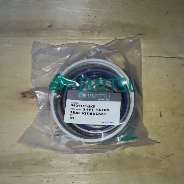 Ремкомплект гидроцилиндр ковша S421151-SK5 R210LC-7 Shimitsu